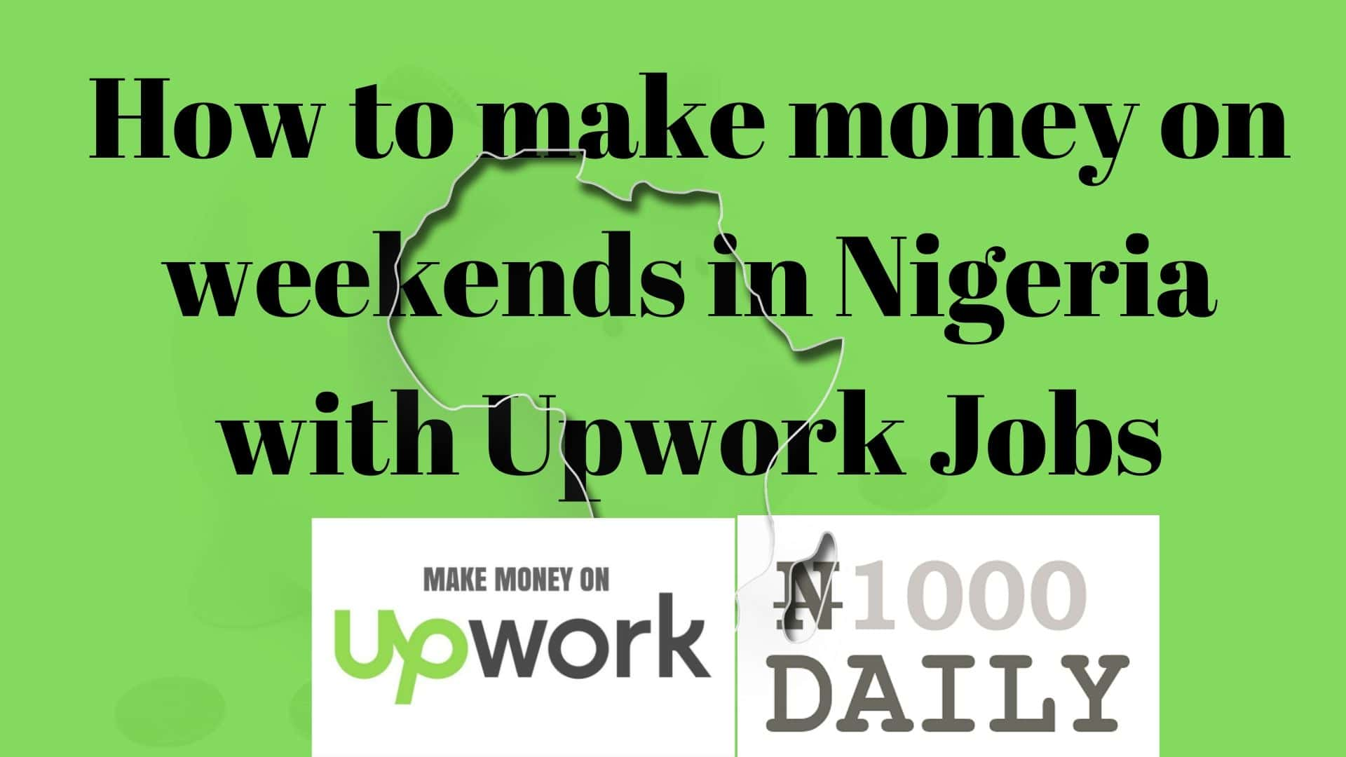 How to make money on weekends with data entry job in upwork